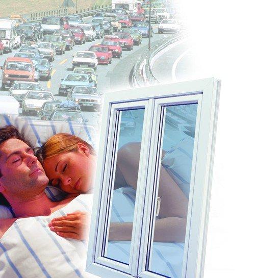 Как сделать пластиковые окна тише